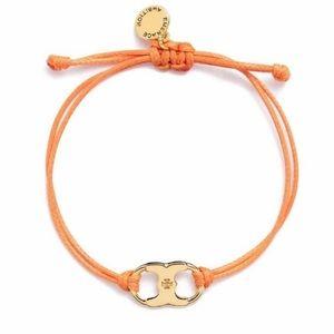 Tory Burch embrace ambition orange bracelet